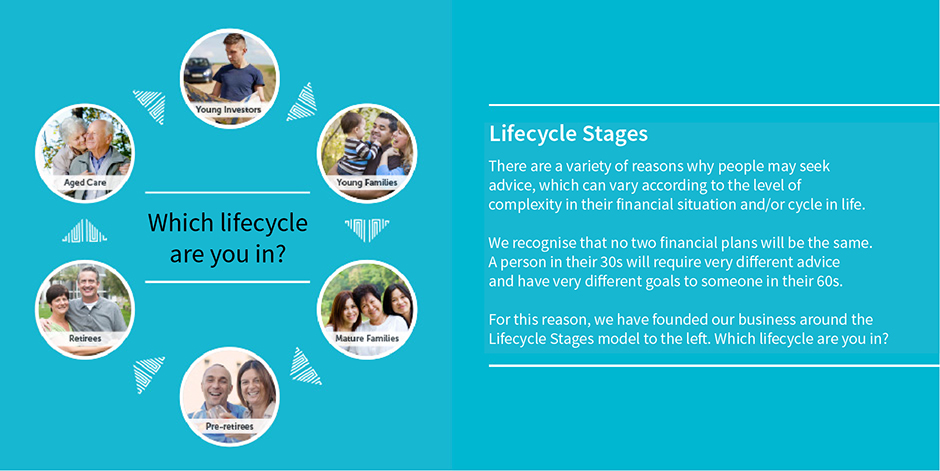 LifePath Lifecycle Stages model