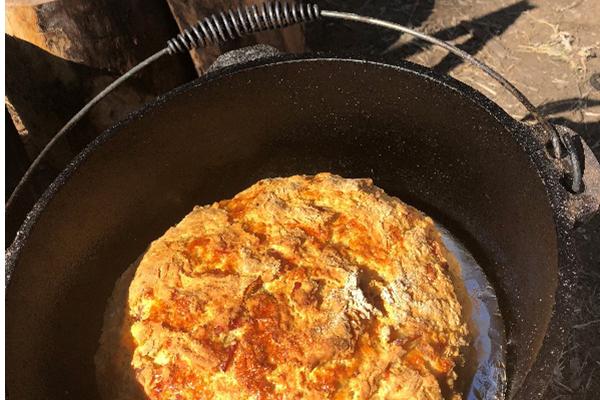 Lifepath damper recipe for the camp fire